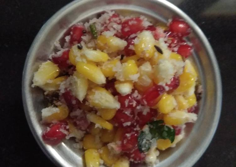 Easiest Way to Make Super Quick Homemade Corn salad