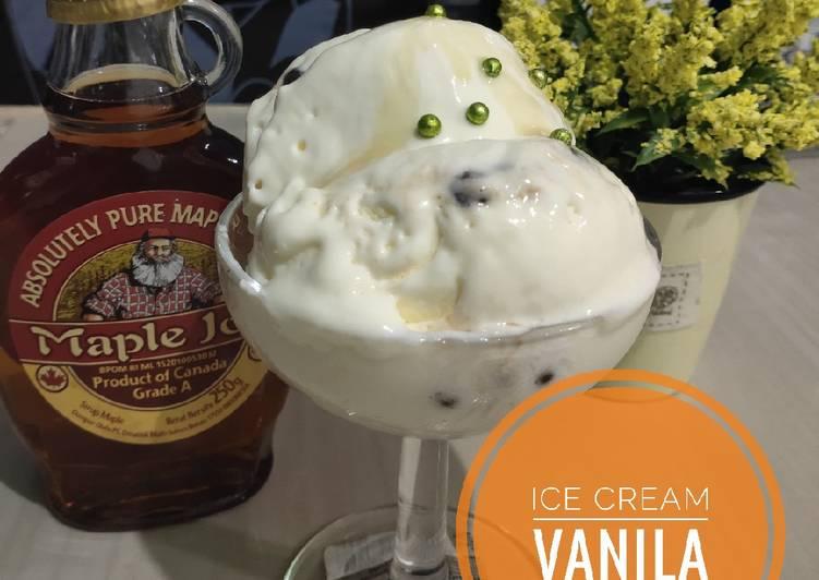 Ice Cream Vanila
