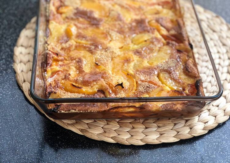 Clafoutis abricots / pêches