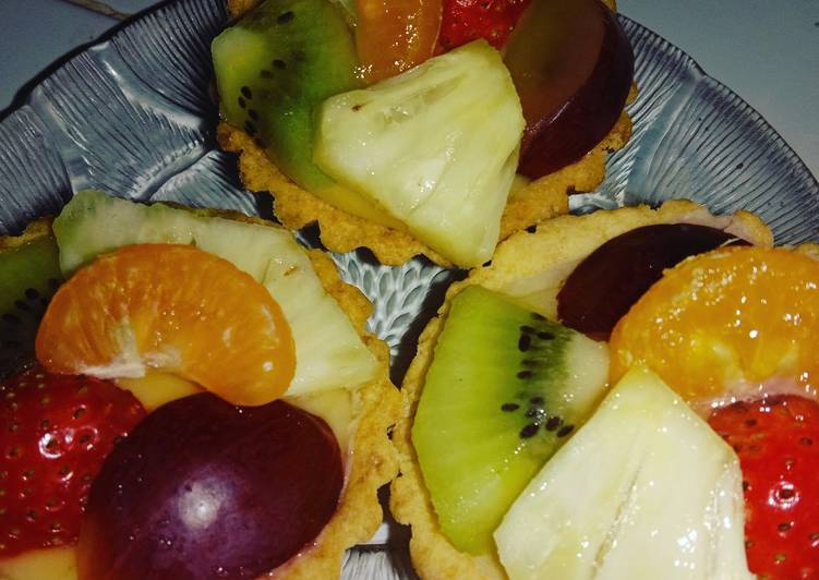 Resep Pie buah tanpa telur (vege) Paling Gampang
