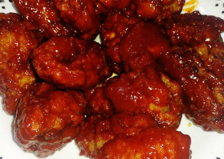 Ayam Korea pedas - velavinkabakery.com