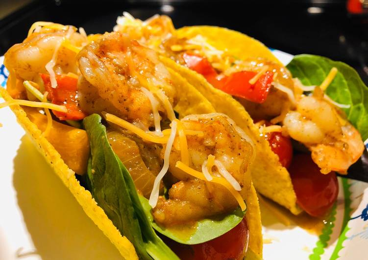 Recipe of Award-winning Shrimp 🍤 Tacos 🌮