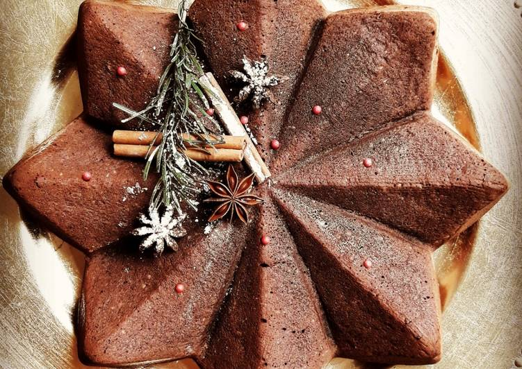 Comment Servir ☆Brownie Pain d'épices☆ Noël