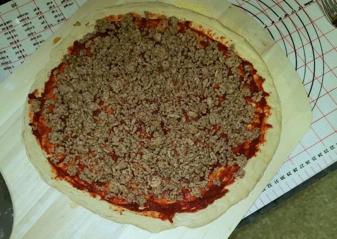 Italian pizza sausage