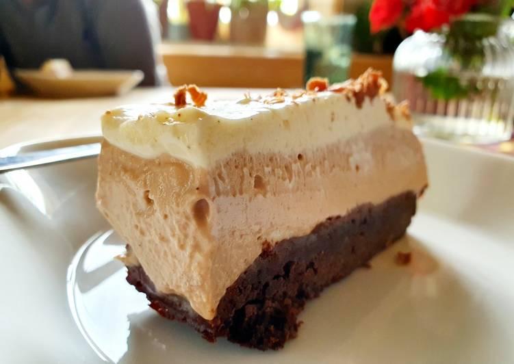 3.Brownies Choco Cheese Cake
