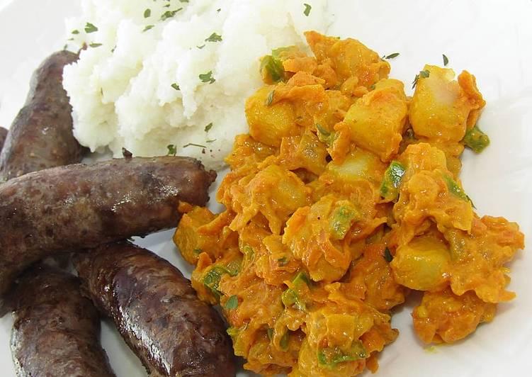 Carrot & Potato Curry
