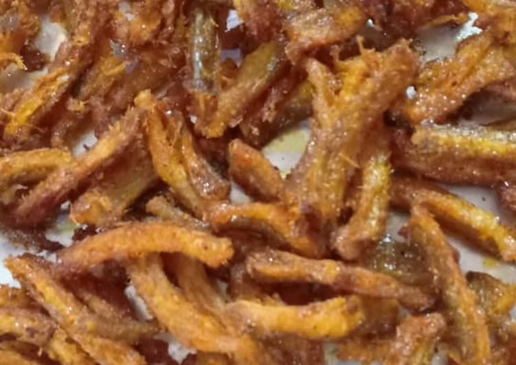 Simple Way to Make Homemade Dry bombil fry