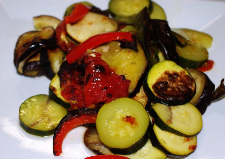 Légumes grillés au four