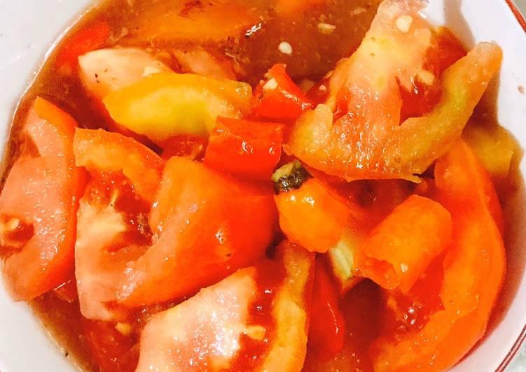 Sambal tomat terasi segar
