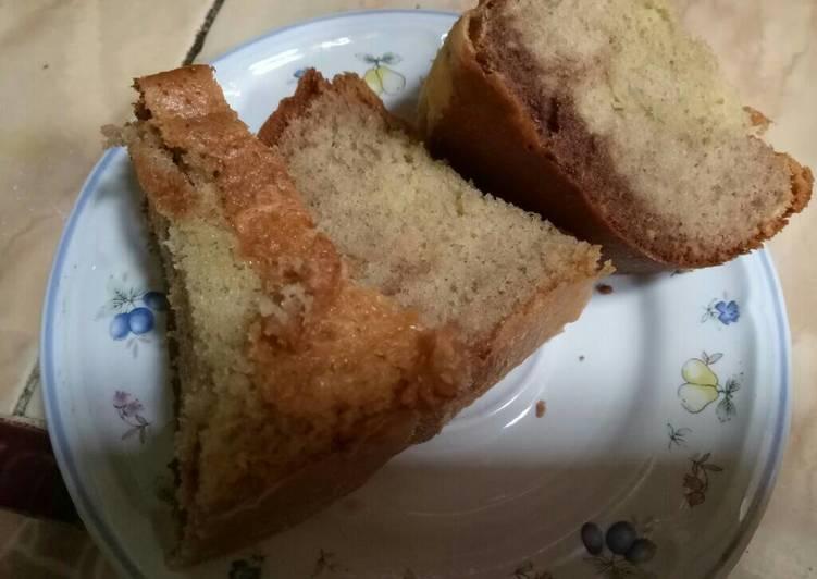Bolu Marmer Sederhana Baking Pan