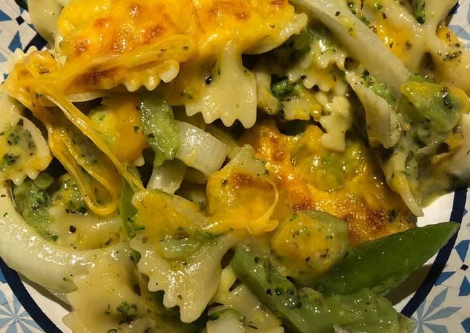 Quick Broccoli 🥦 Pasta 🍝 Frittata