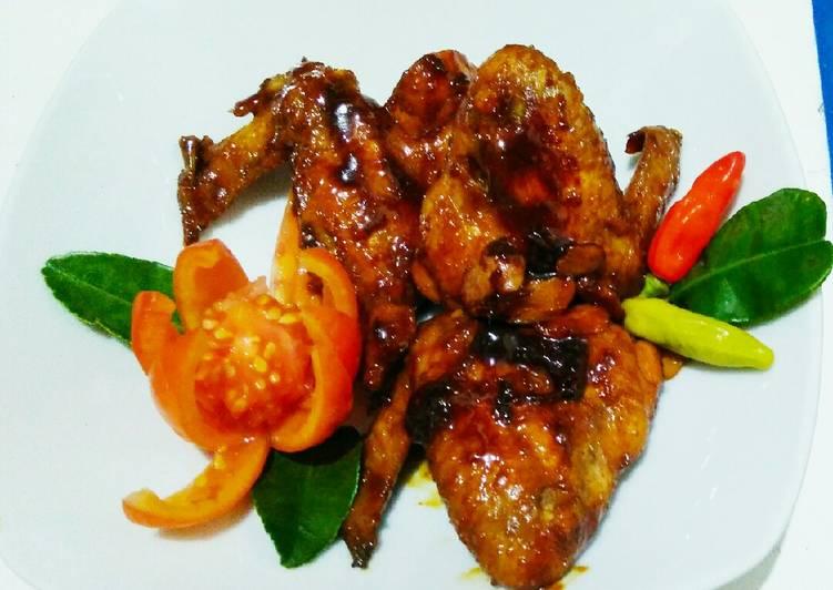 Ayam bakar teflon bumbu instant