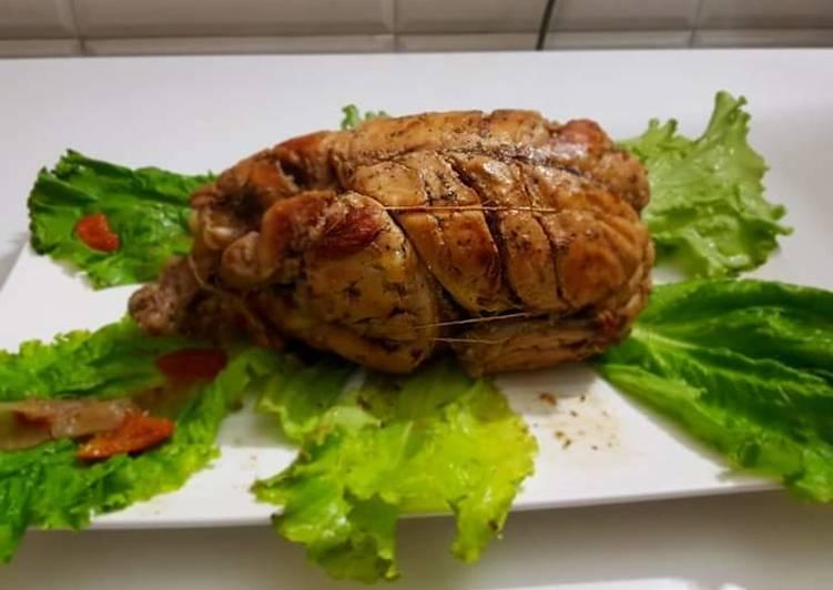 Oregano chicken roast