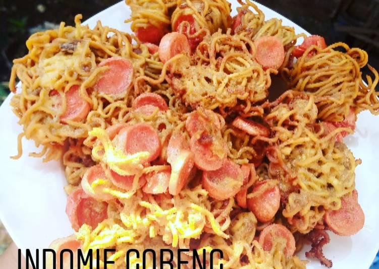 Resep Indomie Goreng Sosis Bikin Laper