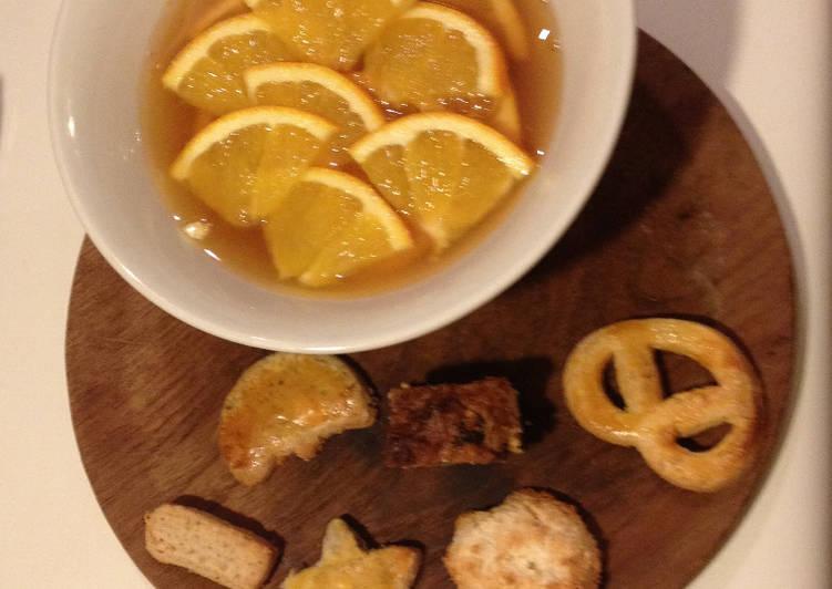 Salade d'Oranges aux Épices et au Miel