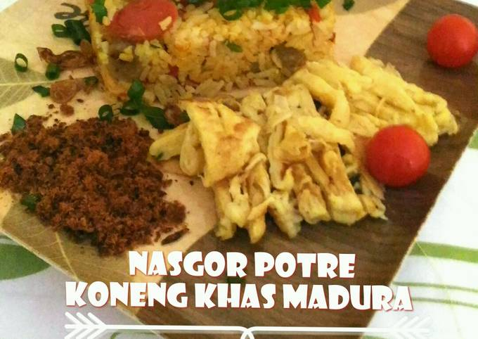 Nasgor Potre Koneng Khas Madura Special