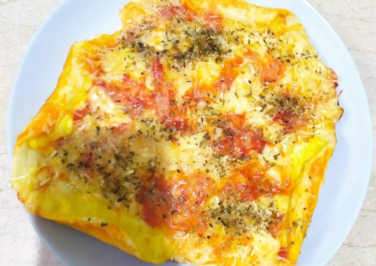 Resep Pizza roti, Enak Banget