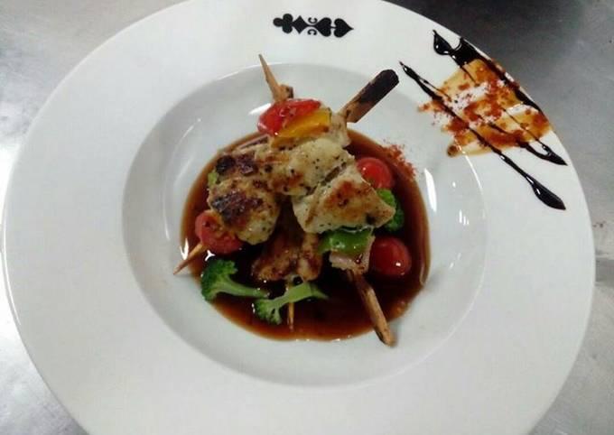 Chicken Shashlic Stic #Cookpad Ramadan special