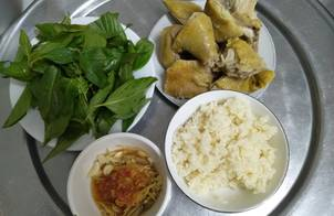 Cơm Gà Phan Rang - Mắm Gừng
