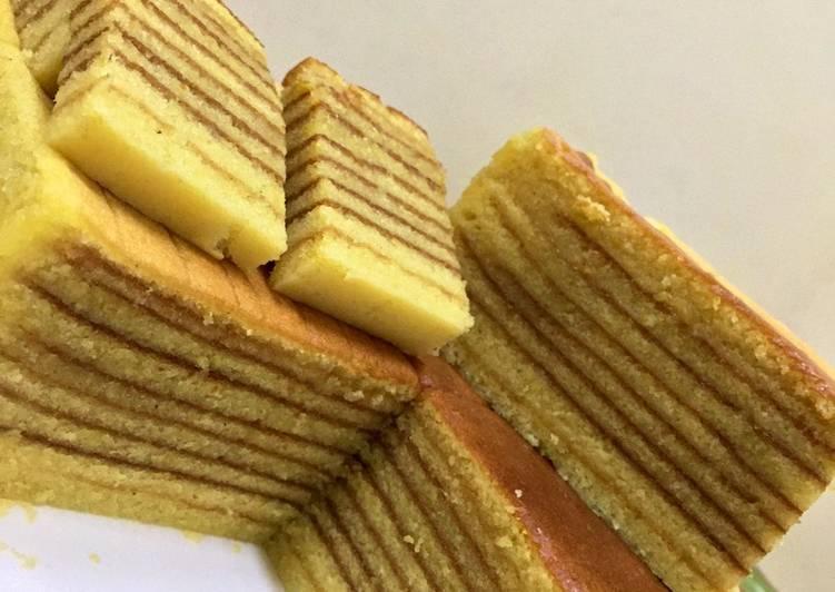 03 - Lapis Legit Oven Listrik 20 Telur (Indonesia Thousand Layers Cake)