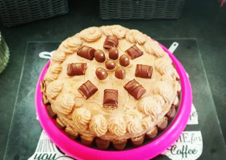 Molly cake Nutella kinder bueno