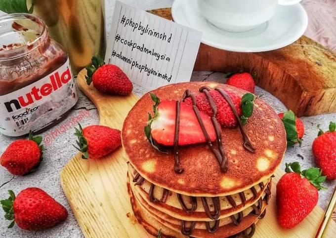 Chocolate pancake #phopbylinimohd