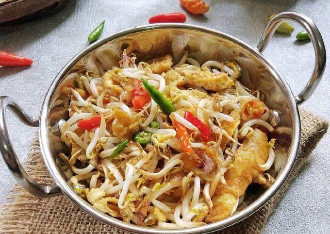 Resep Dadar Telur Cah Tauge Oleh Tuti Hidayati Cookpad