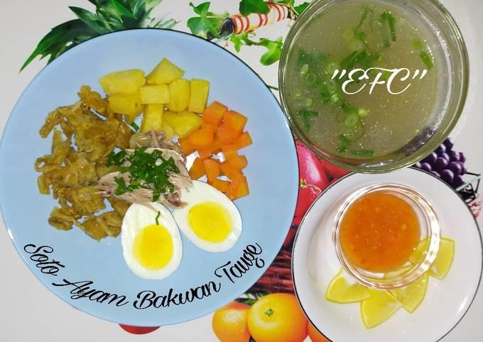 Resep Soto Ayam Bakwan Tauge Lezat