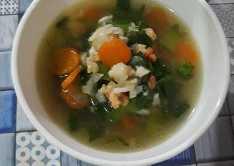 Sup udang 🦐🦐🦐 sederhana MPASI