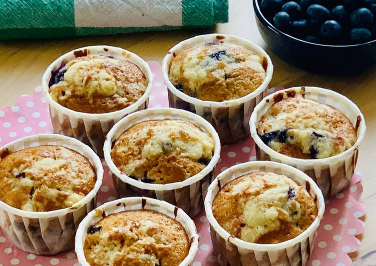 Muffins Myrtille