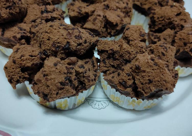 Bolu Kukus Cokelat Mekar tanpa Baking Powder