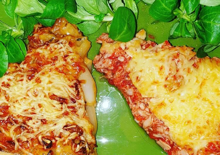 Recettes Tarte aux oignons et tarte au thon