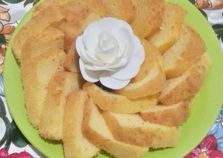 Chiffon Labu Kuning Tepung Beras - cookandrecipe.com
