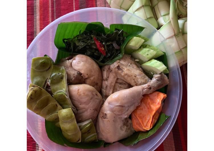 Resep 039. Ayam Pop Bukittinggi - Sumatera Barat untuk jualan