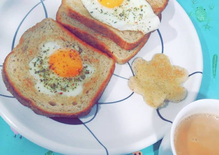 Recipe of Homemade Poached Eggs on Toast🥚🥪
