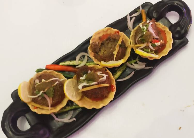 Recipe: Perfect Masoor kebab in the tarts