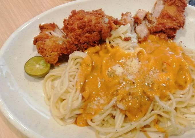 ��Ayam Percik Spaghetti��
