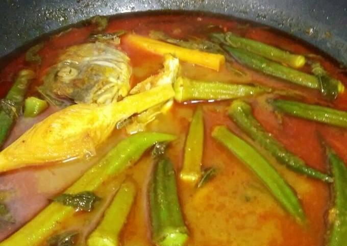 Asam Pedas Ikan Berkuah