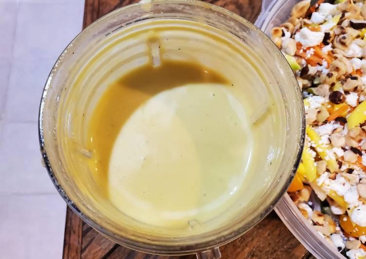 Easy Comfort Dinner Easy Refreshing Mango balsamic vinaigrette