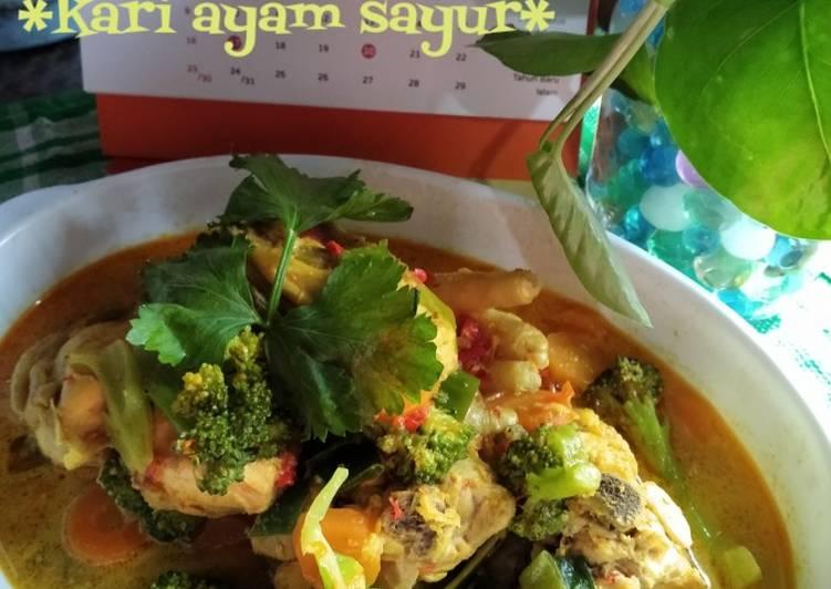 *kari ayam sayur* alaku - cookandrecipe.com