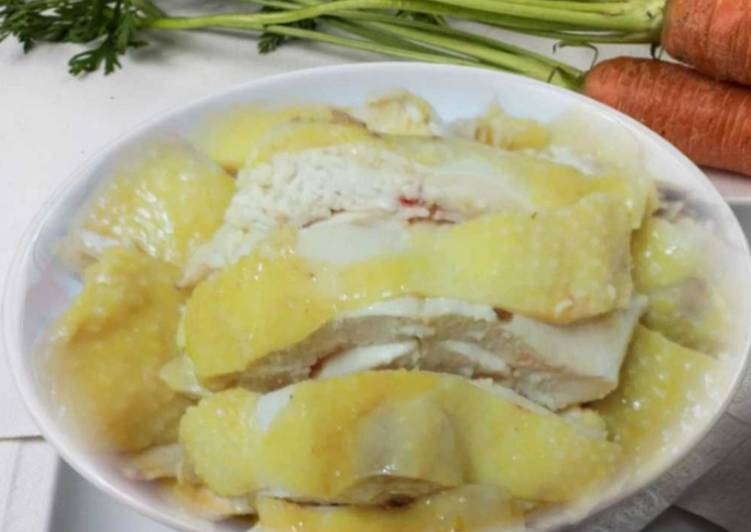 Simple Ayam Kukus (Chinese Chicken Steamed)