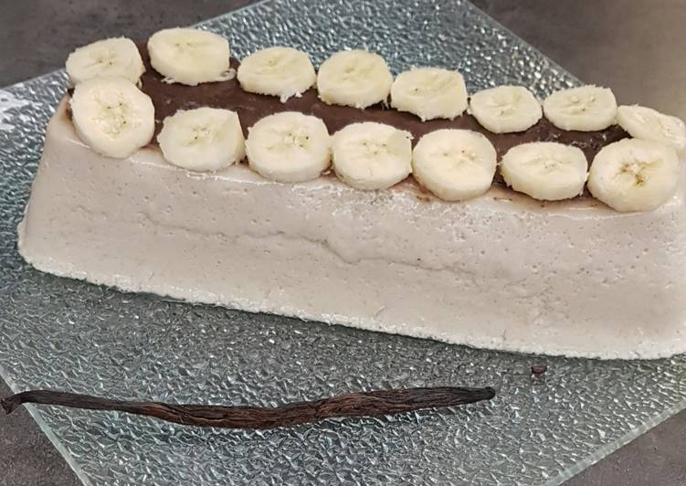 °bavarois à la banane °