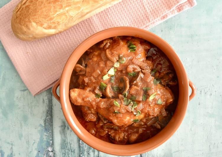 Recipe of Award-winning Chicken Cacciatore