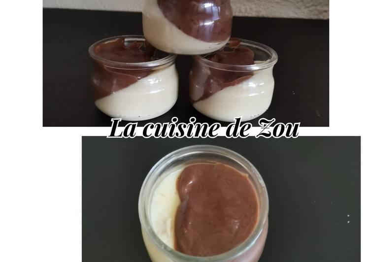 Comment Faire Des Crème aux 2 saveurs (Monsieur Cuisine)