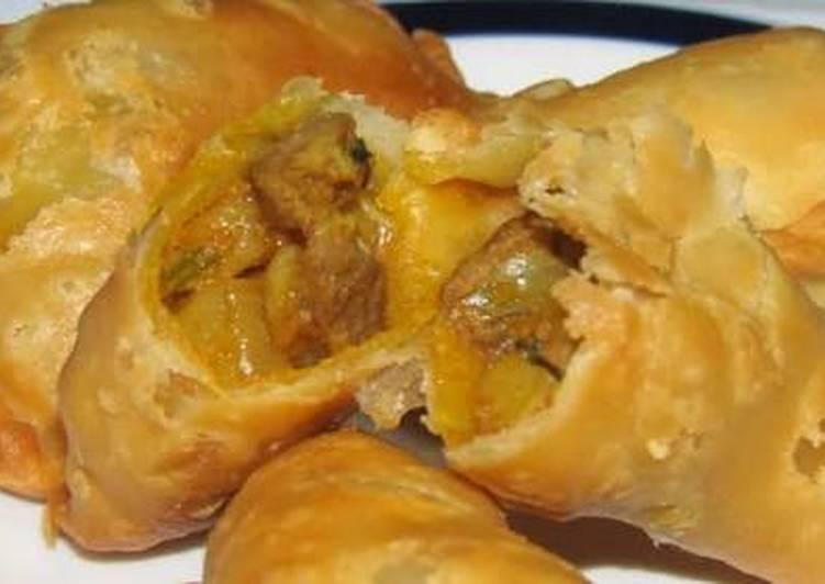Curry puff isi kentang