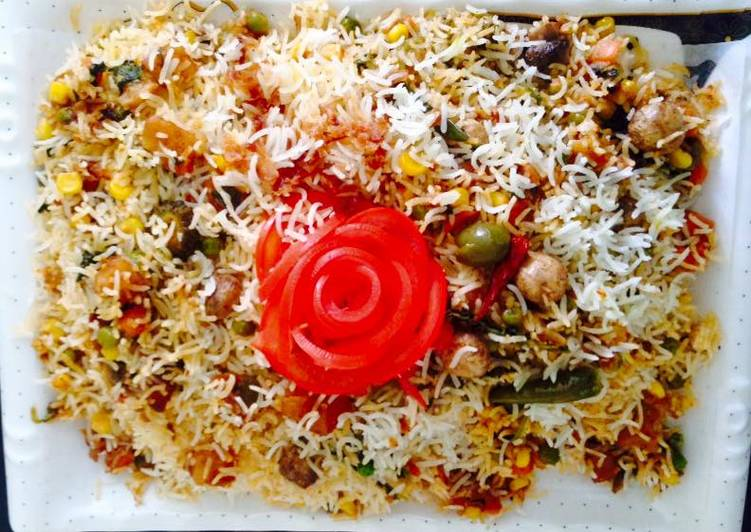 Easiest Way to Make Ultimate Layered Veg biryani