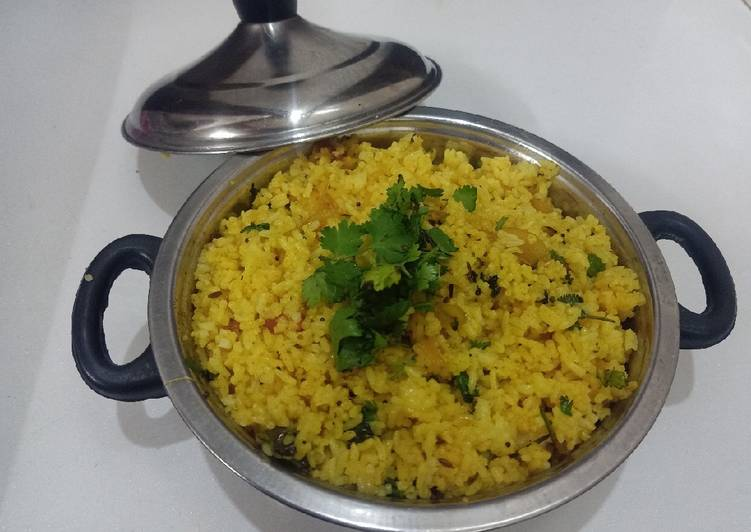 Turn to Food to Boost Your Mood Yellow pulao