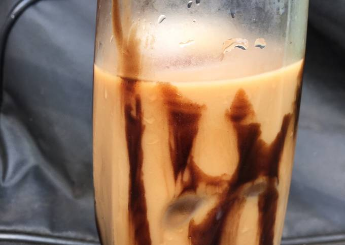 How to Make Delicious Mocha iced coffee