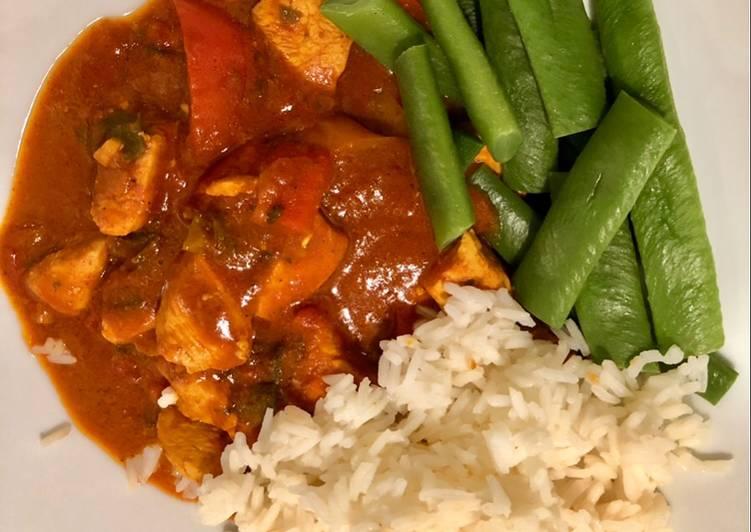 Steps to Make Favorite 30min Chicken tikka masala