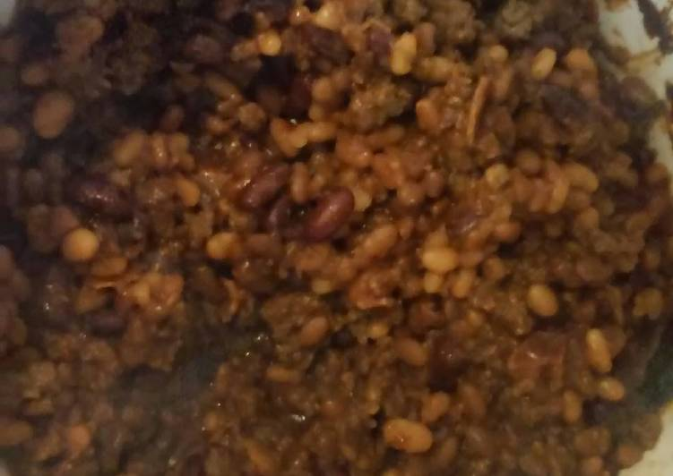 Recipe: Tasty Crockpot Bbq beans